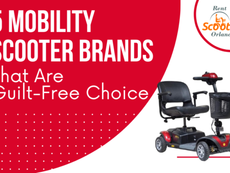 5 Mobility Scooter Brands That Are Guilt-Free Choice