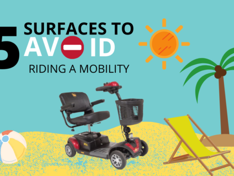 5 Surfaces to Avoid Riding a Mobility Scooter