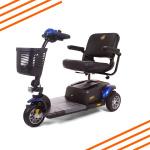 Buzzaround XL HD 3 Wheel Scooter Blue