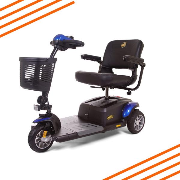 Portable 3 Wheel Scooter Rental