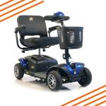 Buzzaround XL HD 4 Wheel Scooter Blue-1