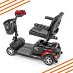 Buzzaround XlS 4 HD Wheel Scooter Side