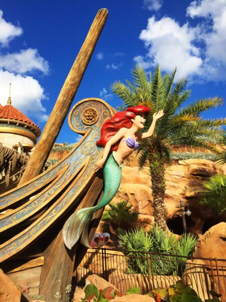Don't forget to Ride your mobility scooters rental to Disney's the Little Mermaid