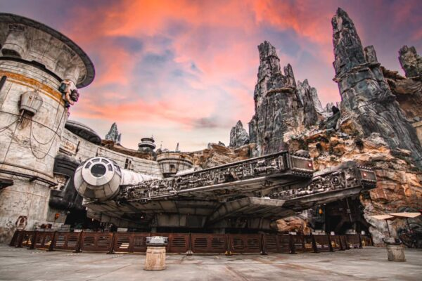 Go to Disney Galaxy Edge with your powerchairs rental Disney approved to see the trace of tomorrow