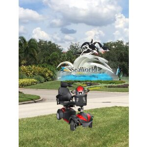 Four Wheel Mobility Scooter Rental-