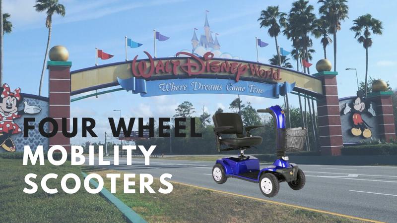 Four Wheel Scooters Rental Orlando florida