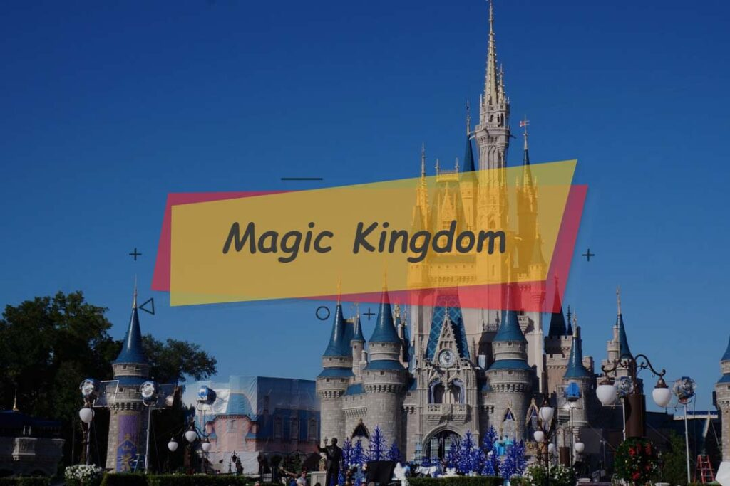 Magic Kingdom - the part of theme parks in Disneyland Orlando, Florida.