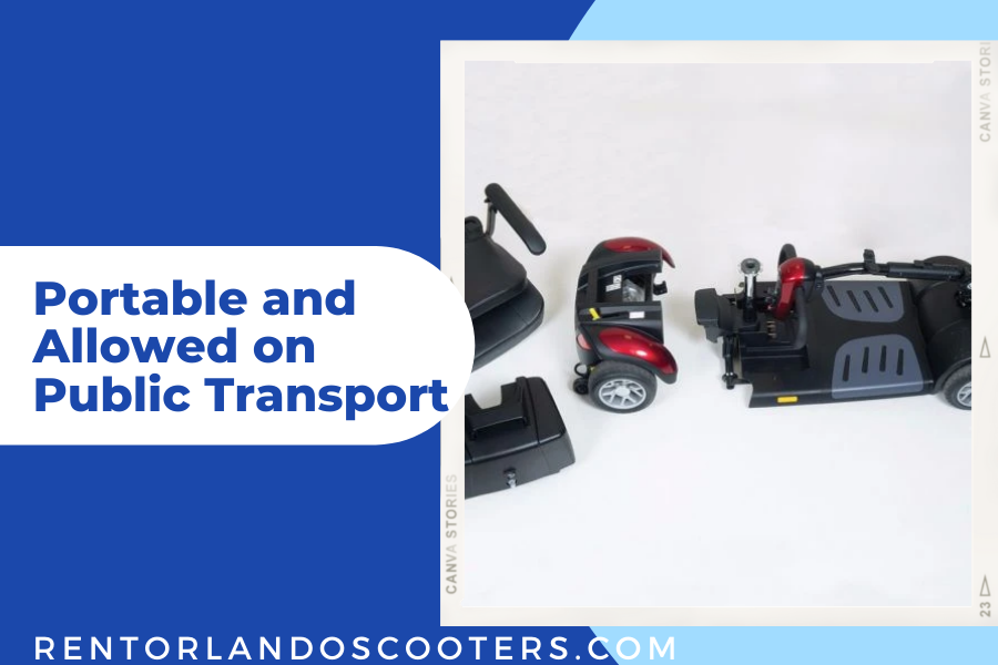 Portable and Allowed on Public Transport