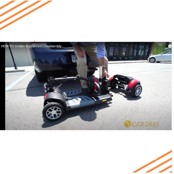 Portable-scooter-disassembly