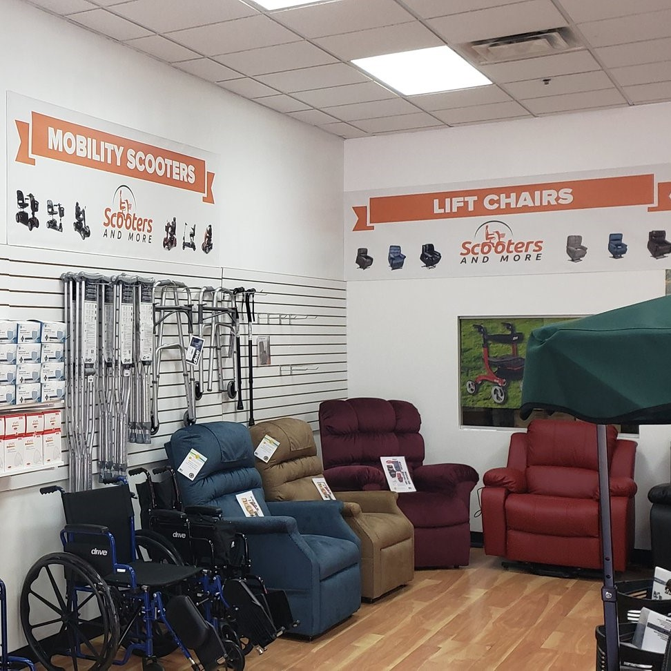 Inside view- Rent Orlando Scooters