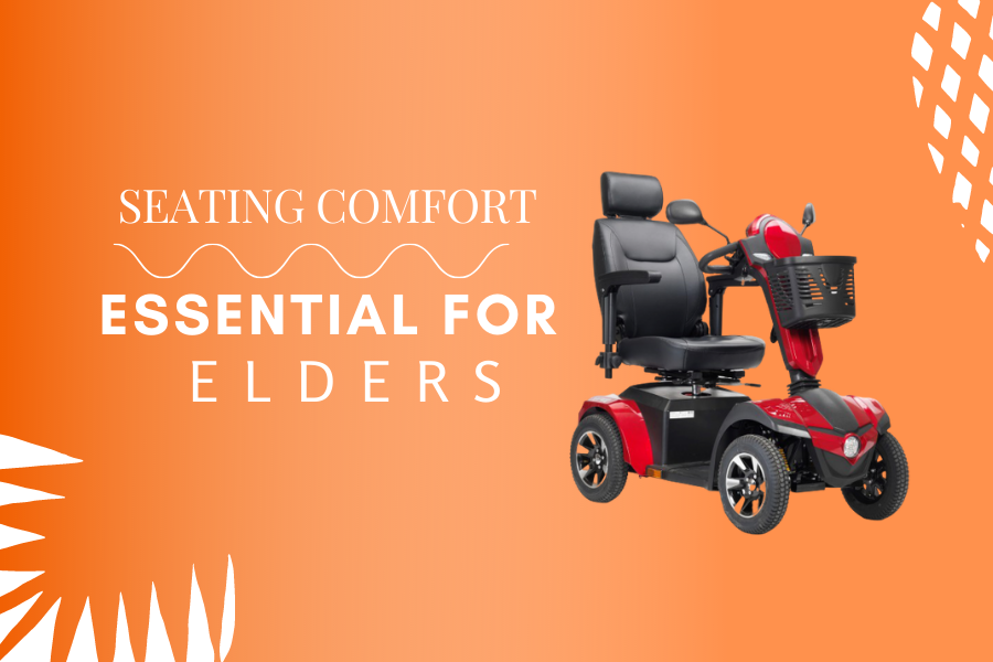 Seating Comfortability is a crucial thing to ensure smooth ride