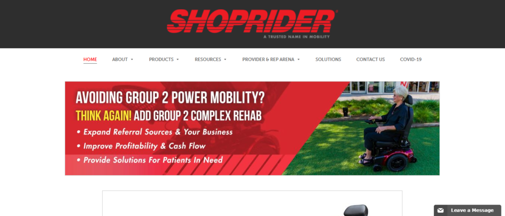 ShopRider Mobility Scooters