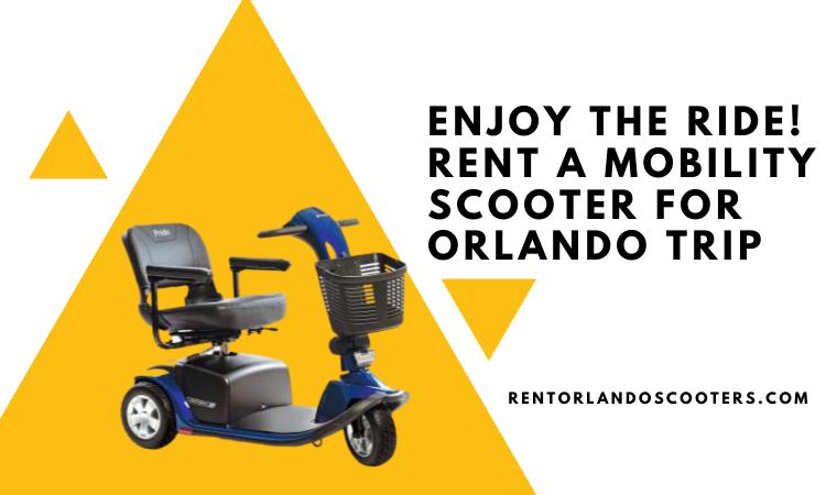 Mobility Scooter Rental Orlando