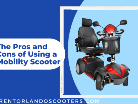 The Pros and Cons of Using a Mobility Scooter