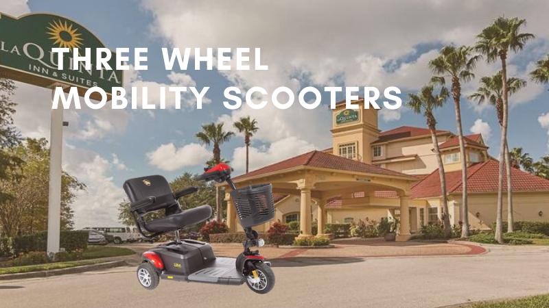 Three Wheel Mobility Scooters Rental Orlando