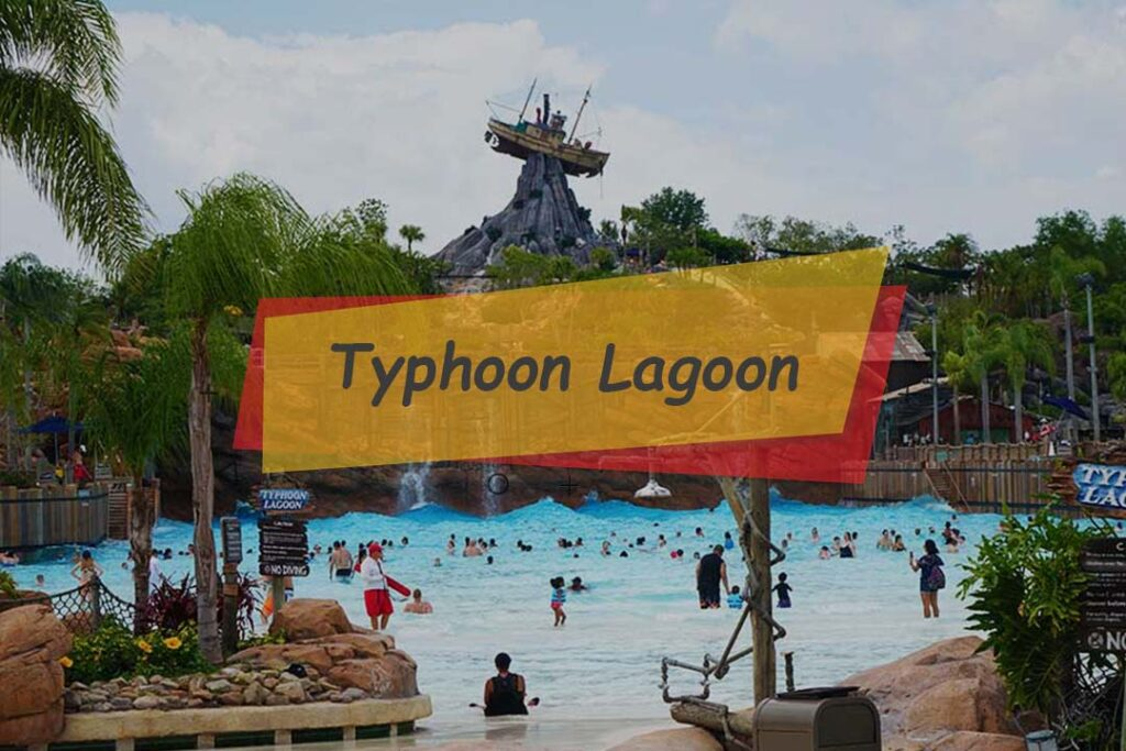 Typhoon lagoon is a water park to free your spirit with an exciting water sports adventure