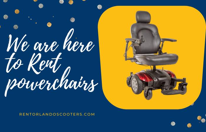Powerchairs Rental Orlando Florida