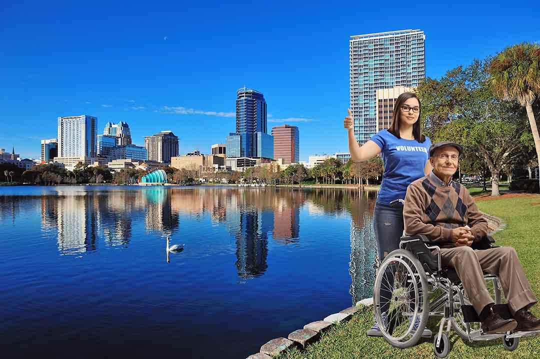 Rent a Manual Wheelchair in Orlando