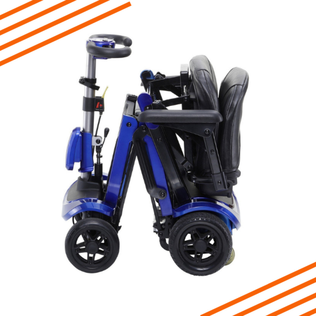 Zoome Flex Folding Scooter Packed