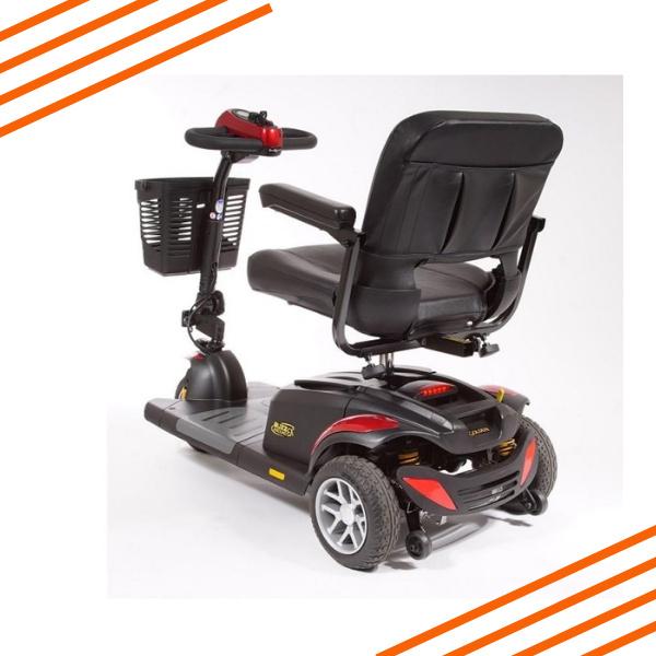 Buzzaround EX 3 Wheel Scooter Rear