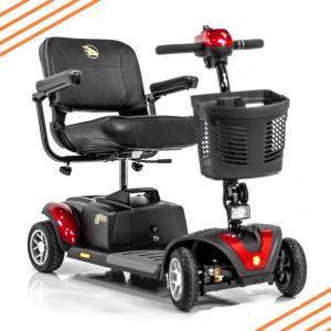 Portable 4 Wheel Mobility Scooter